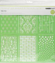 Kaisercraft Designer 12''x12'' Template-Mini Mix, , hi-res