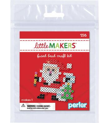 Little Makers Bead Kit-Santa Clause