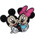 Disney Iron-On Applique-Mickey & Minnie