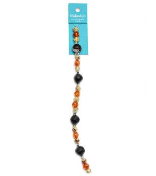 hildie & jo 7'' Strung Beads-Brown