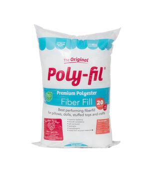 Poly-Fil 20 oz. Premium Polyester Fiber Fill