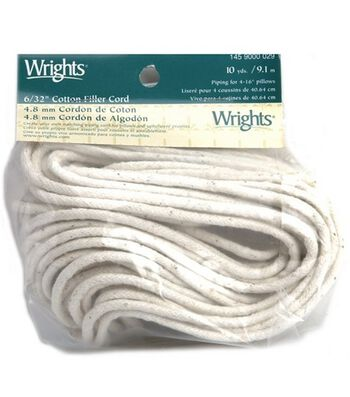 "Cotton Filler 6/32"" Cord-10 yds."
