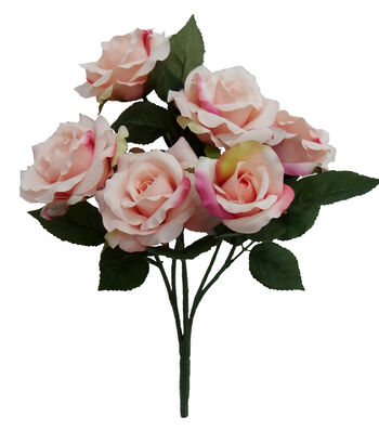 "Bloom Room 17"" Confetti Rose Bush-Pink & Green"
