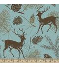 Anti-Pill Fleece Fabric 59\u0022-Deer Teal