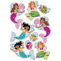 Mermaids & Friends Sparkle Stickers-Large 18 Per Pack, 6 Packs