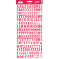 Doodlebug Love Letters Cardstock Stickers