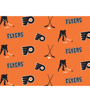 "Philadelphia Flyers Fleece Fabric 60""-Tossed, , hi-res"