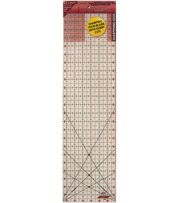 """Cutting Edge Frosted Ruler 6.5"""" x 24.5"""""""