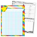 Stars Incentive Chart, 17\u0022 x 22\u0022, Pack of 12
