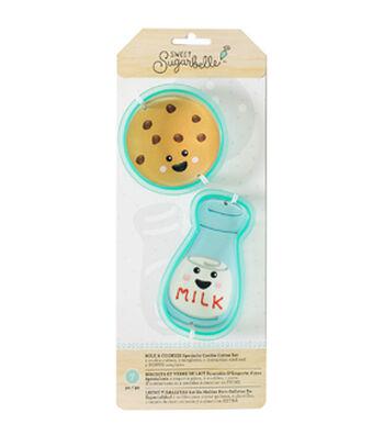 Sweet Sugarbelle 7 pk Cookie Cutters-Milk & Cookie