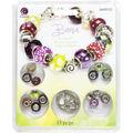 Large Hole Bracelet Kit-Bianca 15pcs