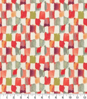 Kelly Ripa Home Upholstery Fabric 54''-Henna Applause
