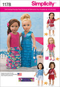 Simplicity Pattern 1178OS One Size -Crafts