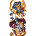 York Wallcoverings Wall Decals-Harry Potter Crest