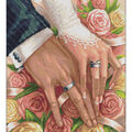 RTO Diamond Mosaic Embroidery Kit 40X50cm-Wedding Day
