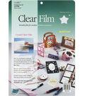 Grafix 9\u0022x12\u0022 Clear Film Sheets-4PK