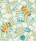 Lion King Fleece Fabric -Born To Rule