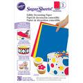 Wilton Sugar Sheets 8\u0022X11\u0022 3/Pkg\u0022-Primary