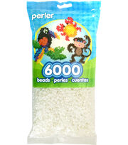 Perler Beads 6,000 Count-White, , hi-res