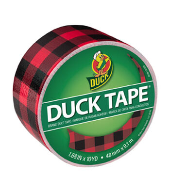 Duck Tape Br& Duct Tape 1.88 in. x 10 yd.-Buffalo Plaid