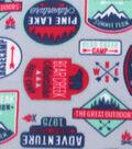 Blizzard Fleece Fabric 59\u0022-Adventure Patches