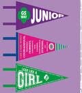 Girl Scout Felt Fabric Panel 44\u0022-Juniors Pennant