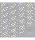 American Crafts Basics Floral Double-Sided Cardstock