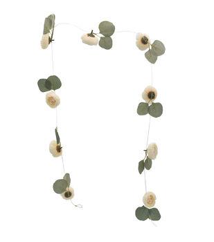 Bloom Room Artisan DIY Ranunculus Floating Garland-Cream