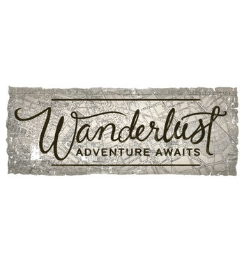 Cricut Small Iron-On Design-Wanderlust Adventure Awaits