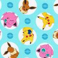 Pokemon Cotton Fabric-Bobbly Poke
