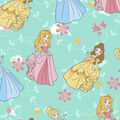 Disney Princesses Flannel Fabric-At the Ball