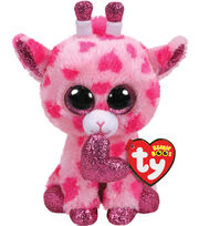 Ty Valentine Beanie Boos Regular Sweetums Giraffe, , hi-res
