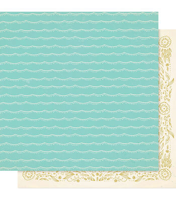 """Maggie Holmes Willow Lane Double-Sided Cardstock 12""""X12""""-Together"""
