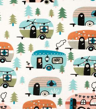 Super Snuggle Flannel Fabric-Glam Campers