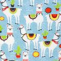 Super Snuggle Flannel Fabric-Aztec Llama