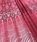 Mesh Fabric-Tango Red