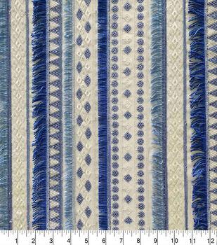 Casa Embellish Dahlia Fabric-Serentiy Geo Sequin Serenity