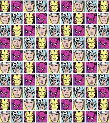 "Marvel Comics™ Mock Smock Fabric 21""-Comic"