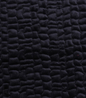 "Cobbled Velvet Fabric 53""-Solids"