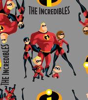 Disney Incredibles 2 Fleece Fabric -Family, , hi-res