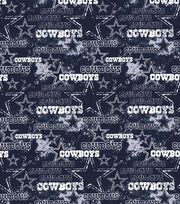 Dallas Cowboys Cotton Fabric-Distressed, , hi-res