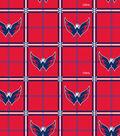 Washington Capitals Flannel Fabric 42\u0022-Box Logo