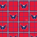 Washington Capitals Flannel Fabric-Logos in Boxes
