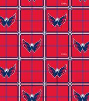 "Washington Capitals Flannel Fabric 42""-Box Logo, , hi-res"