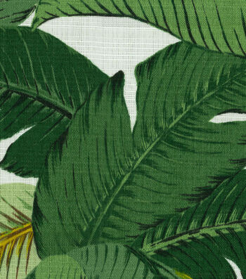 "Tommy Bahama Outdoor Fabric 54""-Swaying Palms Aloe"