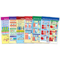 Math Bulletin Board Chart Set, Addition & Subtraction, Set of 6