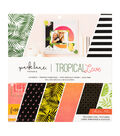 Park Lane Paperie 34 pk Printed Cardstock Collection Pad-Tropical Love
