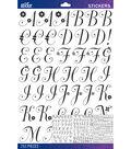 Sticko Black Dorchester Alphabet Sticker Large
