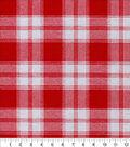 Snuggle Flannel Fabric -Melanie Plaid Red