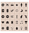 Hero Arts Kelly Purkey Planner Icons Mounted Rubber Stamp Set